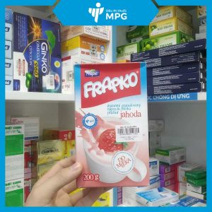 Cốm bổ sung chất xơ chống táo bón Frapko màu đỏ