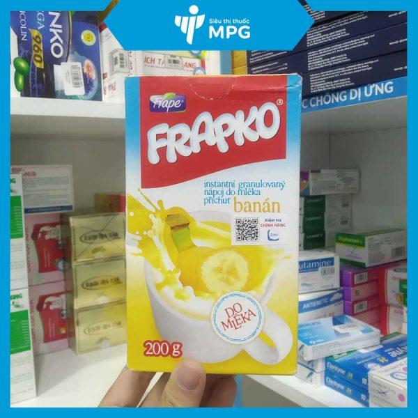 Cốm bổ sung chất xơ chống táo bón Frapko màu vàng