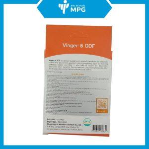 Viên ngậm giảm ốm nghén Vinger - 6 ODF