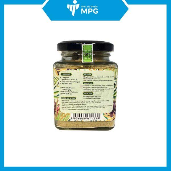 Bột cám gạo Milaganics ngừa mụn, làm trắng da