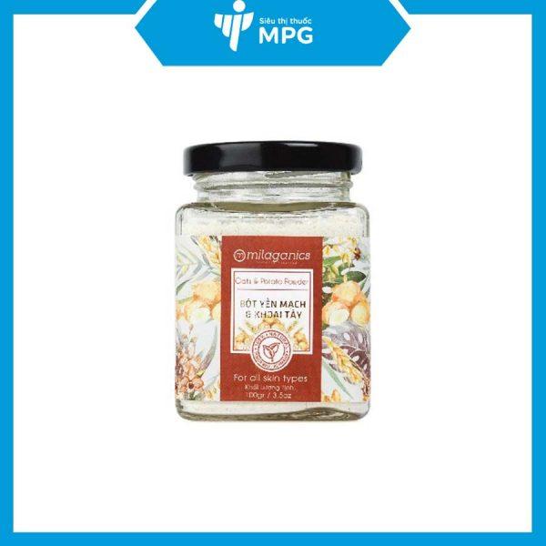 Bột yến mạch khoai tây Milaganics