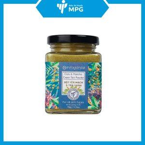 Bột yến mạch trà xanh Milaganics ngăn lão hóa da
