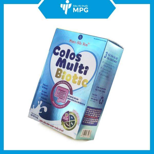 Sữa non Colos Multi Biotic cho trẻ sơ sinh