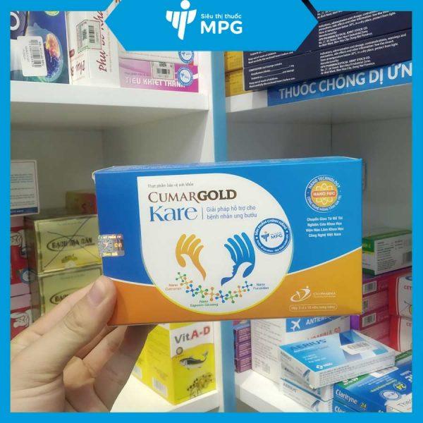 Cumargold Kare tại siêu thị thuốc MPG