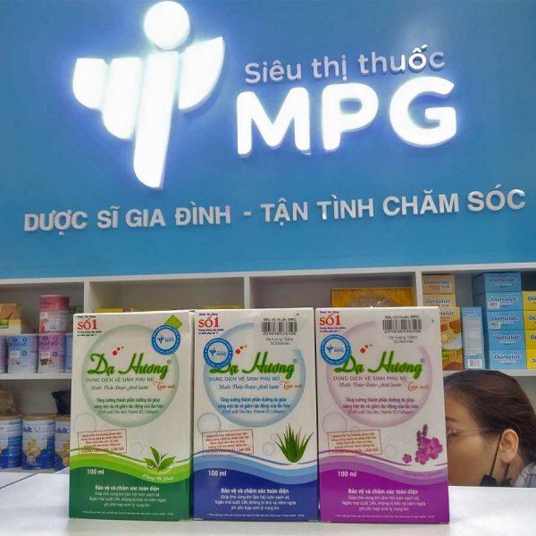 3 loại Dung dịch vệ sinh phụ nữ Dạ Hương