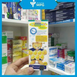 Thực phẩm bảo vệ vệ sức khỏe Fitobimbi Propoli giảm ho cho bé