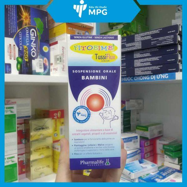 Thực phẩm bảo vệ vệ sức khỏe Fitobimbi Tussiflux