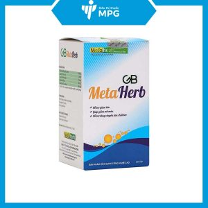 Thực phẩm bảo vệ sức khỏe GB Metaherb