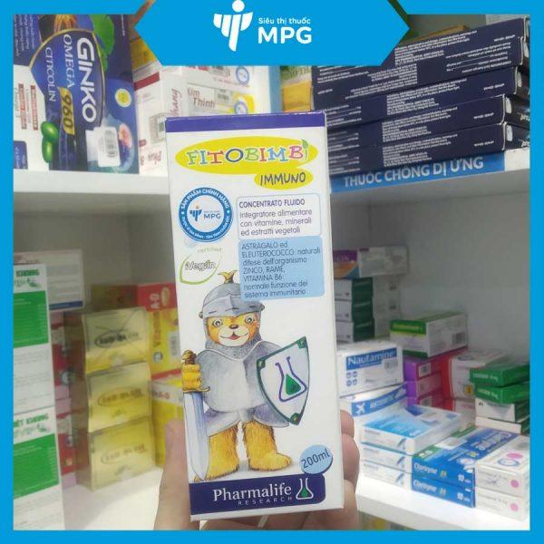 Immuno Bimbi tăng cường sức đề kháng cho bé