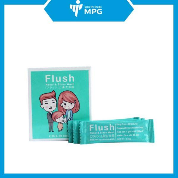 Muối rửa mũi Flush
