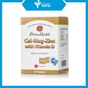 PrimeHealth Cal-Mag-Zinc with Vitamin D