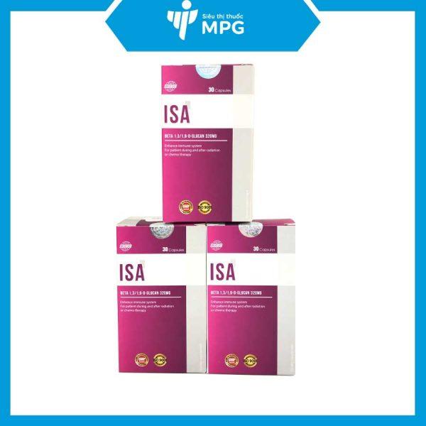 Viên hỗ trợ miễn dịch ISA cho bệnh nhân ung thư