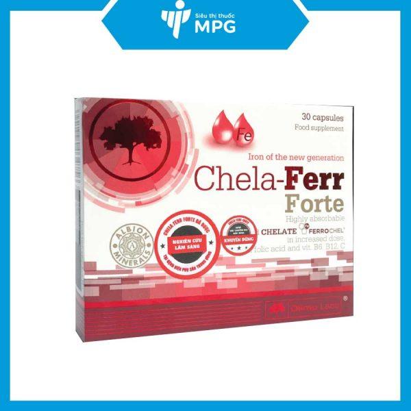 Viên uống Chela Ferr Forte tốt cho máu