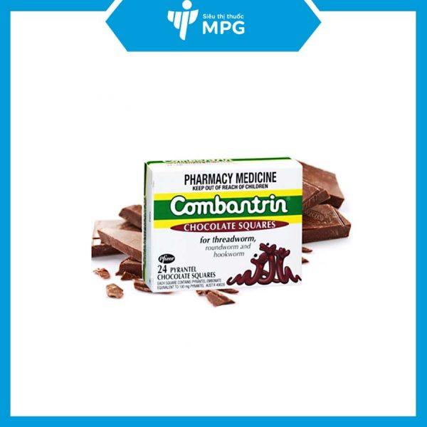 Thuốc giun vị socola Combantrin 125mg của Úc