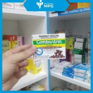 Thuốc giun vị socola Combantrin tại siêu thị thuốc MPG