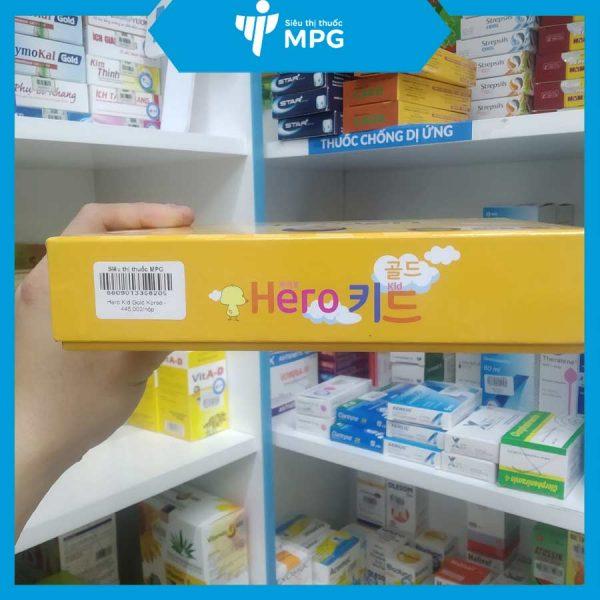 Siro hero kid gold giúp bé ăn ngon, khỏe mạnh