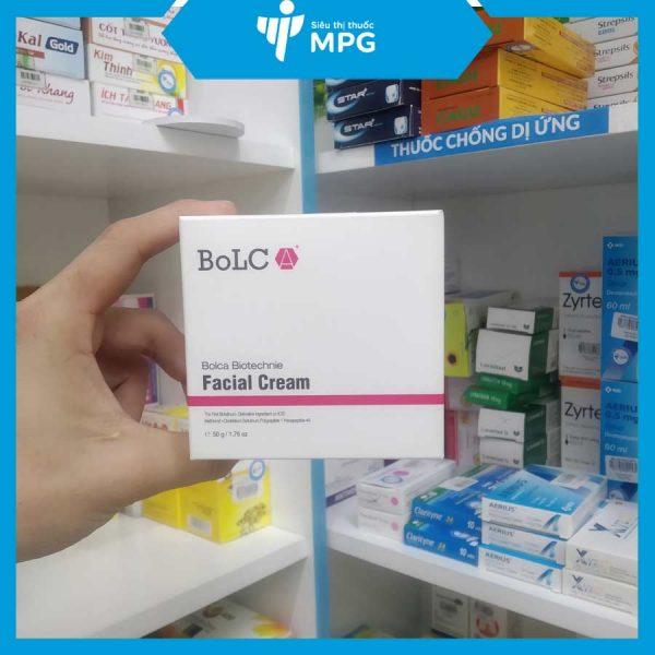 Kem dưỡng da Bolca Biotechnie Facial Cream tại siêu thị thuốc MPG