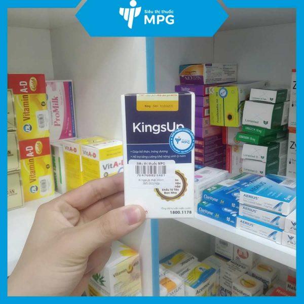 Viên uống tăng cường sinh lý nam KingsUp tại siêu thị thuốc MPG