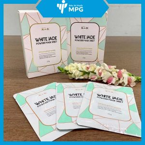 Mặt nạ White Jade Powder Mask Sheet Oksanga