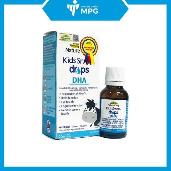 Siro Nature's Way Kids Smart Drops DHA bổ sung DHA