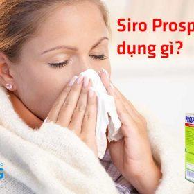 siro prospan có tác dụng gì