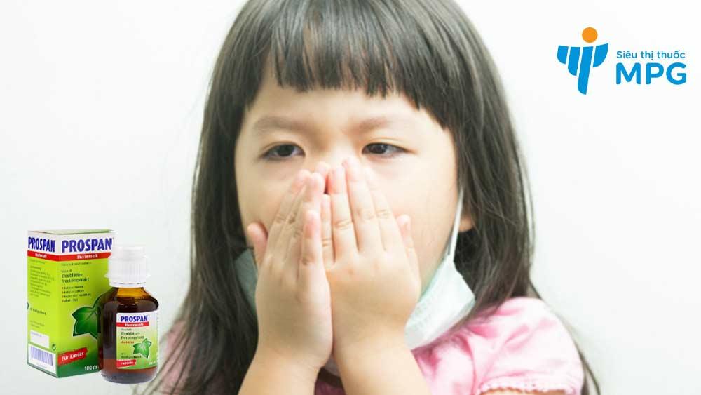 Siro ho Prospan trị ho do nhiễm khuẩn đường hô hấp