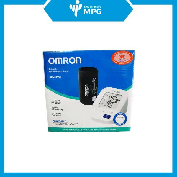 Máy đo huyết áp bắp tay tự động Omron HEM – 7156