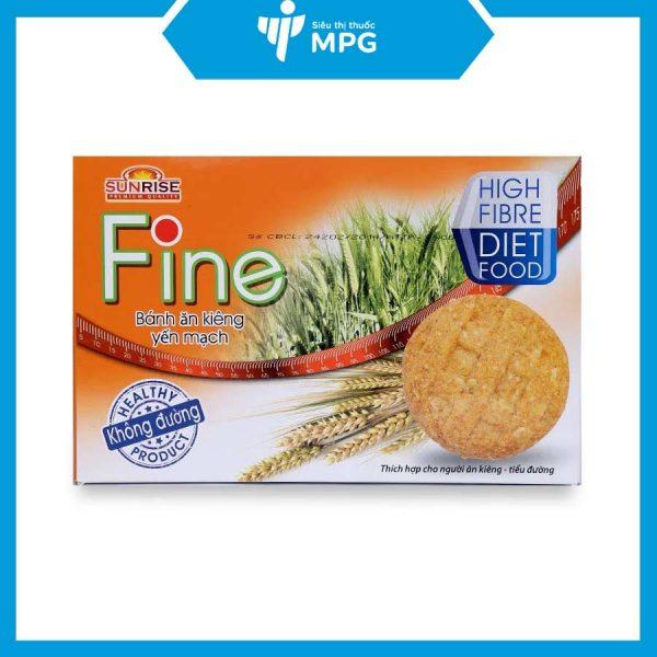 bánh ăn kiêng yến mạch Fine cho người ăn kiêng