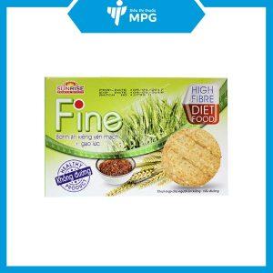 Bánh ăn kiêng yến mạch, gạolứcFine cho người tiểu đường