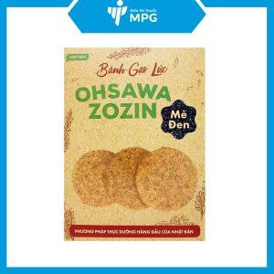 Bánh gạo lức mè đen Ohsawa Zozin 125g cho người ăn kiêng