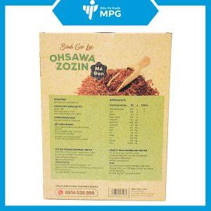 Bánh gạo lức mè đen Ohsawa Zozin