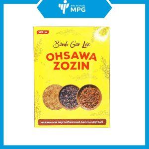 Bánh gạo lức Ohsawa Zozin cho người tim mạch, ăn kiêng