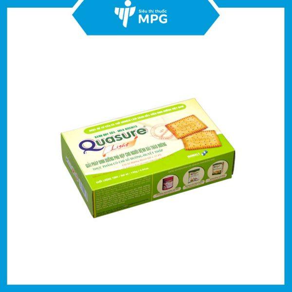 bánh quy Quasure Light Sữa cho người mỡ máu, béo phì