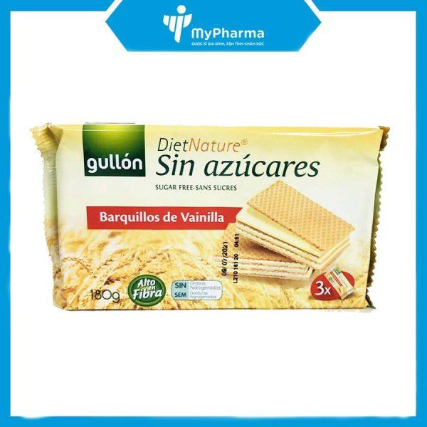 Bánh xốp Gullon hương Vani cho người tiểu đường ăn kiêng