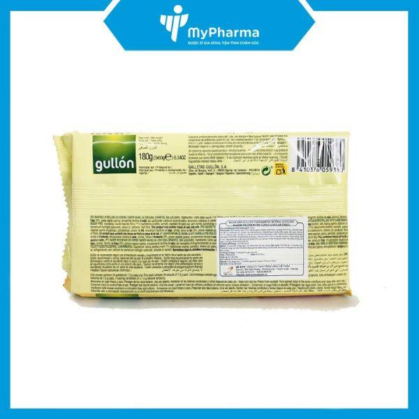 Bánh xốp Gullon hương Vani cung cấp chất xơ