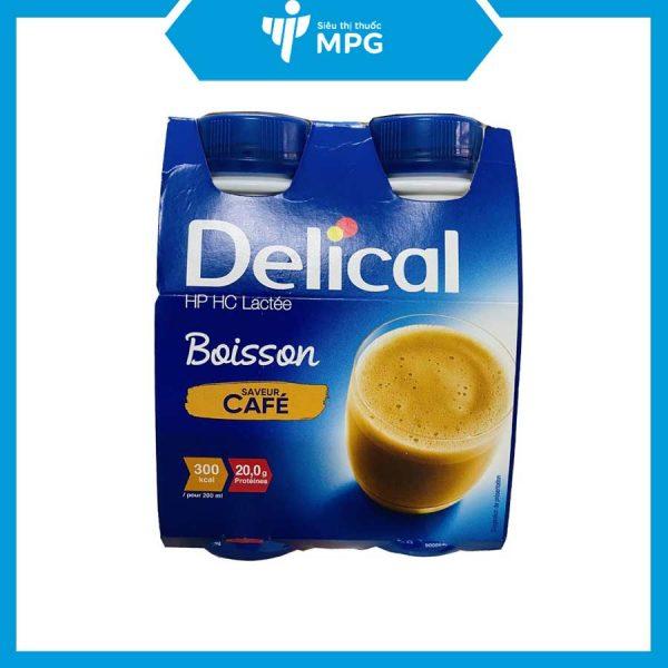 sữa Delical Cafe cho người gầy ốm thiếu chất