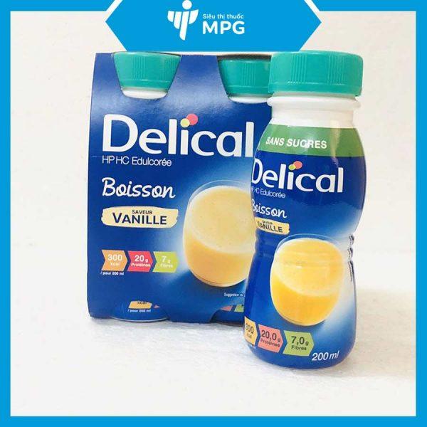 sữa Delical Vani cho người gầy yếu