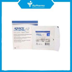 gạc Aquacel Ag Extract hộp 10 miếng