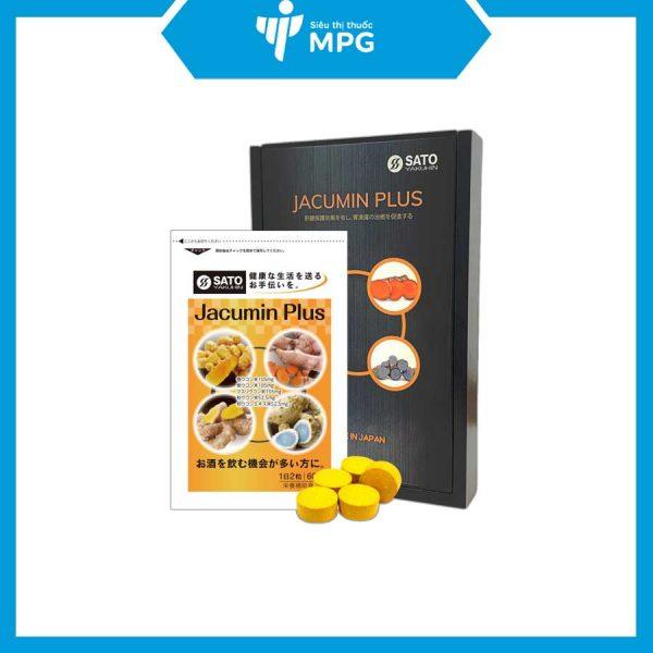 Jacumin Plus hỗ trợ bảo vệ dạ dày
