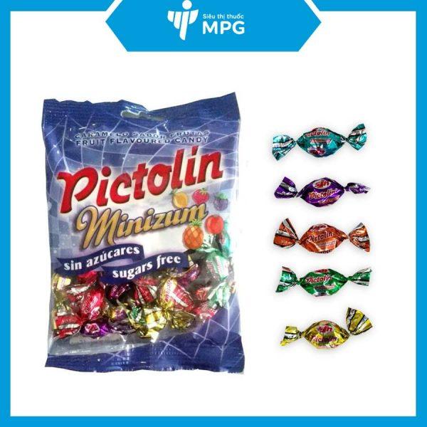 kẹo Pictolin Minizum không đường
