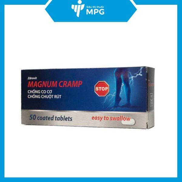 Magnum Cramp hộp 50 viên uống bổ thần kinh