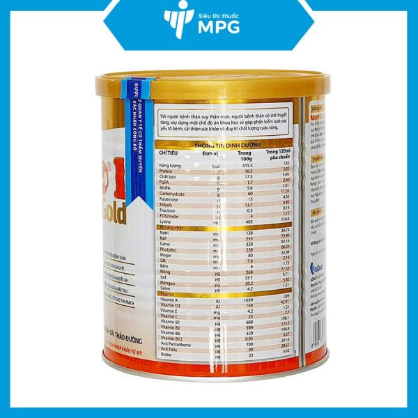 Sữa Nepro 1 Gold kiểm soát đường huyết người tiểu đường