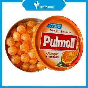 Kẹo ngậm ho Pulmoll Orange Vitamin C
