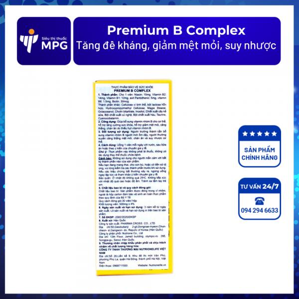 Premium B Complex