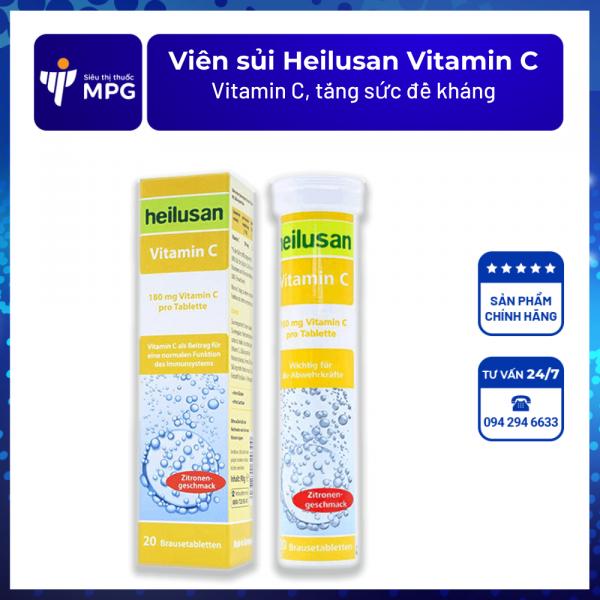 Viên sủi Heilusan Vitamin C