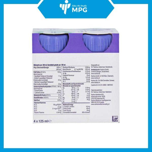 Sữa Nutrinidrink Compact Multi Fiber cho trẻ 1-2 tuổi