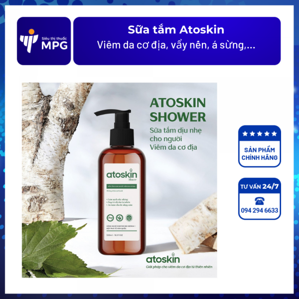 sữa tắm Atoskin