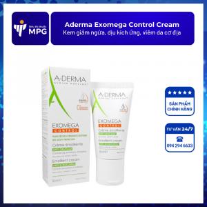 Aderma Exomega Control Cream