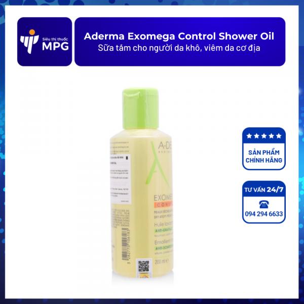 Aderma Exomega Control Shower Oil