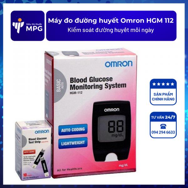 Máy đo đường huyết Omron HGM 112
